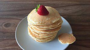 Pancakes au curcuma